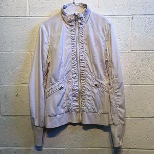 Lululemon cream and gray jacket, sz 10, 58251